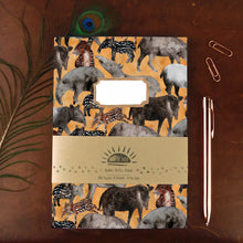 Load image into Gallery viewer, Candle of Tapirs Print Journal and Notebook Set