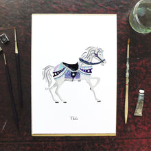 Load image into Gallery viewer, Le Carrousel Thalia the Carousel Horse Art Print