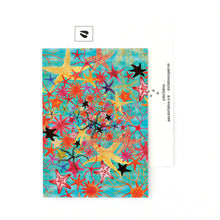 Load image into Gallery viewer, Asterozoa Starfish Print Postcard