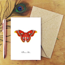 Load image into Gallery viewer, Atlas Moth Greetings Card