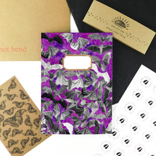 Load image into Gallery viewer, Chiroptera Bat Print Notebook