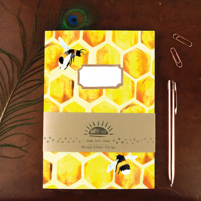 Mellifera Honeybee Print Notebook