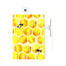 Load image into Gallery viewer, Mellifera Honeybee Postcard