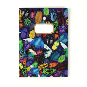 Coleoptera Beetle Print Notebook