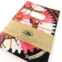 Load image into Gallery viewer, Le Carrousel du Soleil Print Notebook