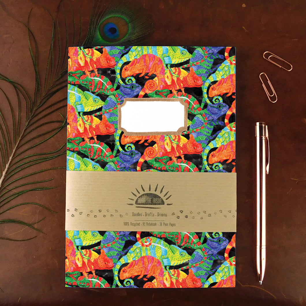 Camouflage of Chameleons Notebook