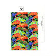 Load image into Gallery viewer, Camouflage of Chameleons Postcard