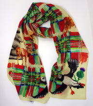 Load image into Gallery viewer, Alba Print Fine Wool Scarf