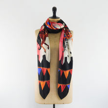 Load image into Gallery viewer, Le Carrousel du Soleil Print Silk Scarf