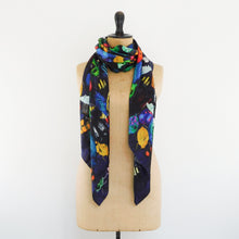 Load image into Gallery viewer, Coleoptera Print Silk Scarf