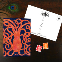 Load image into Gallery viewer, Octopoda Octopus Print Postcard