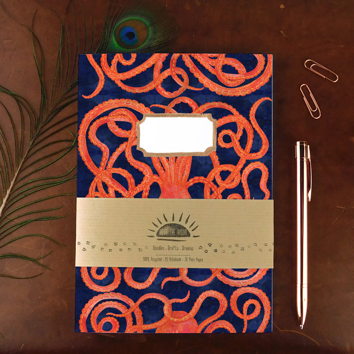 Octopoda Octopus Notebook