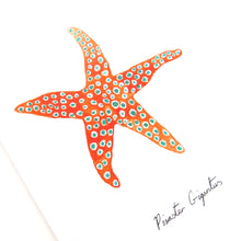 Load image into Gallery viewer, Asterozoa Giant Starfish Greetings Card
