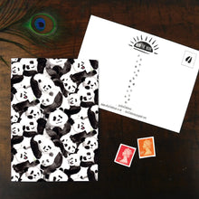 Load image into Gallery viewer, Embarrassment of Pandas Postcard