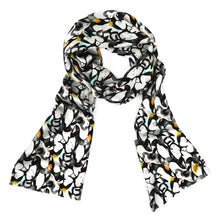 Load image into Gallery viewer, Waddle Print Silk Satin Amelia Aviator Scarf