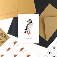 Load image into Gallery viewer, Improbability Atlantic Puffin Greetings Card