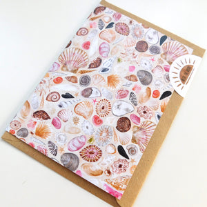 Conchae Sea Shell Greetings Card