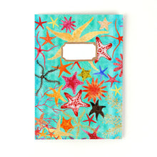 Load image into Gallery viewer, Asterozoa Starfish Print Notebook