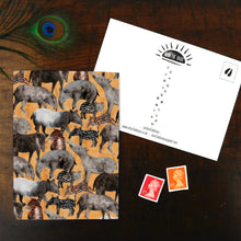 Load image into Gallery viewer, Candle of Tapirs Print Postcard