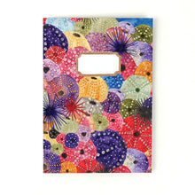 Load image into Gallery viewer, Echinozoa Urchin Print Notebook