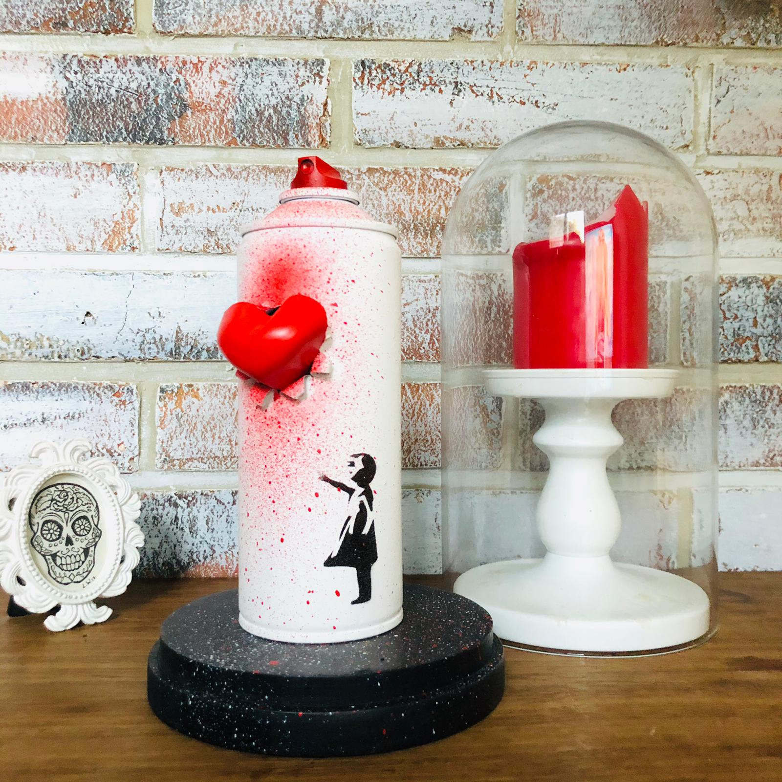 BOMBE SPRAY BANKSY