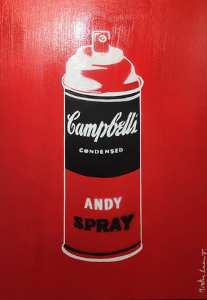 tableau-andy-spray-red-mister-luca-t