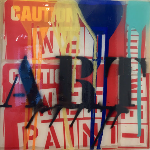 tableau-caution-paint-mister-luca-t