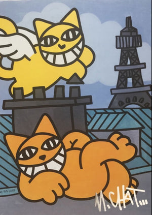 serigraphie-chat-paris-monsieur-chat