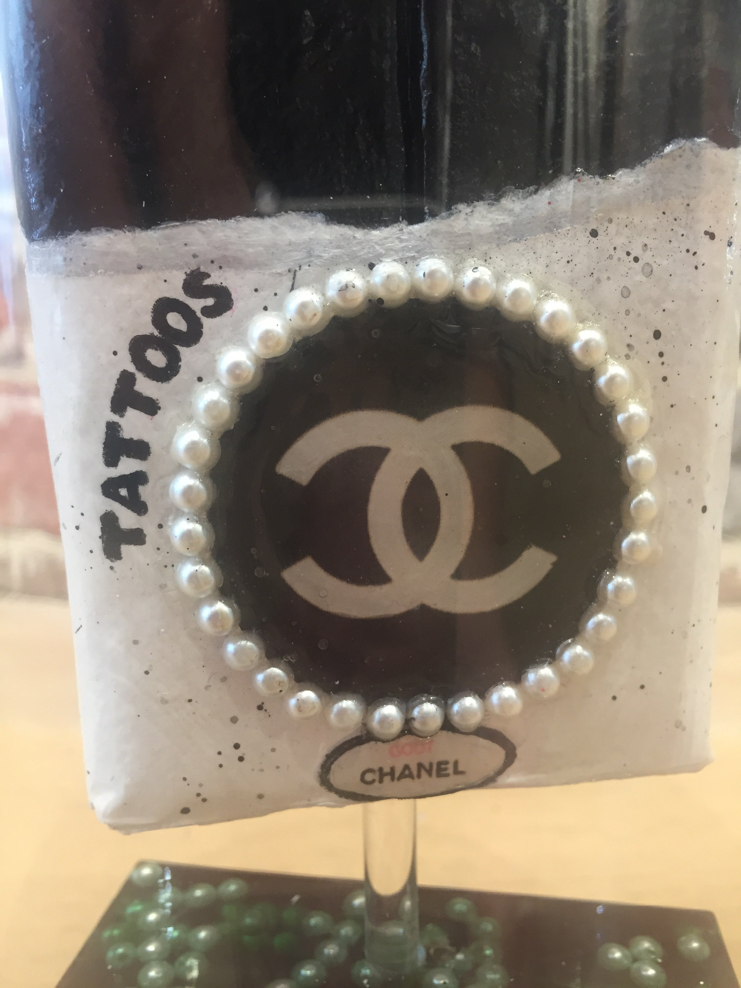 Mini MAlab'Art sous cloche goût Chanel