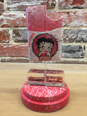 Mini Malab'Art sous cloche goût Betty Boop
