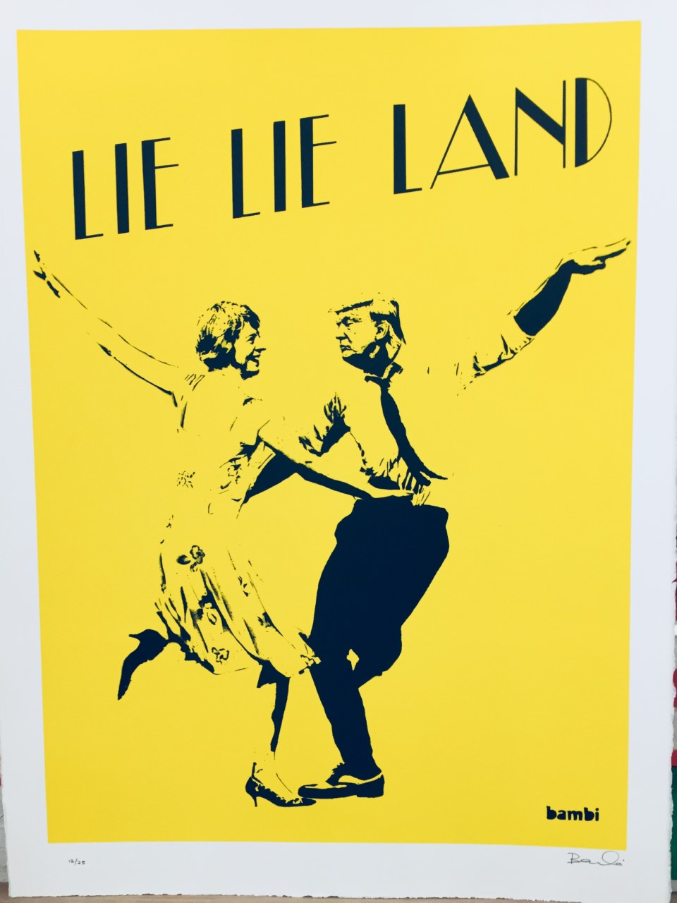 serigraphie-lie-lie-land-yellow-bambi