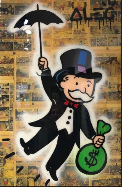 peinture-monopoly-with-umbrella-alec-monopoly