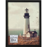 Digital Enlargement Black Wood Frame