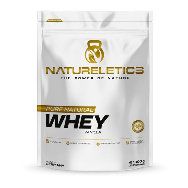 NATURELETICS Pure Natural Whey Vanilla