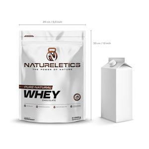 Natureletics Pure Natural Whey Chocolate
