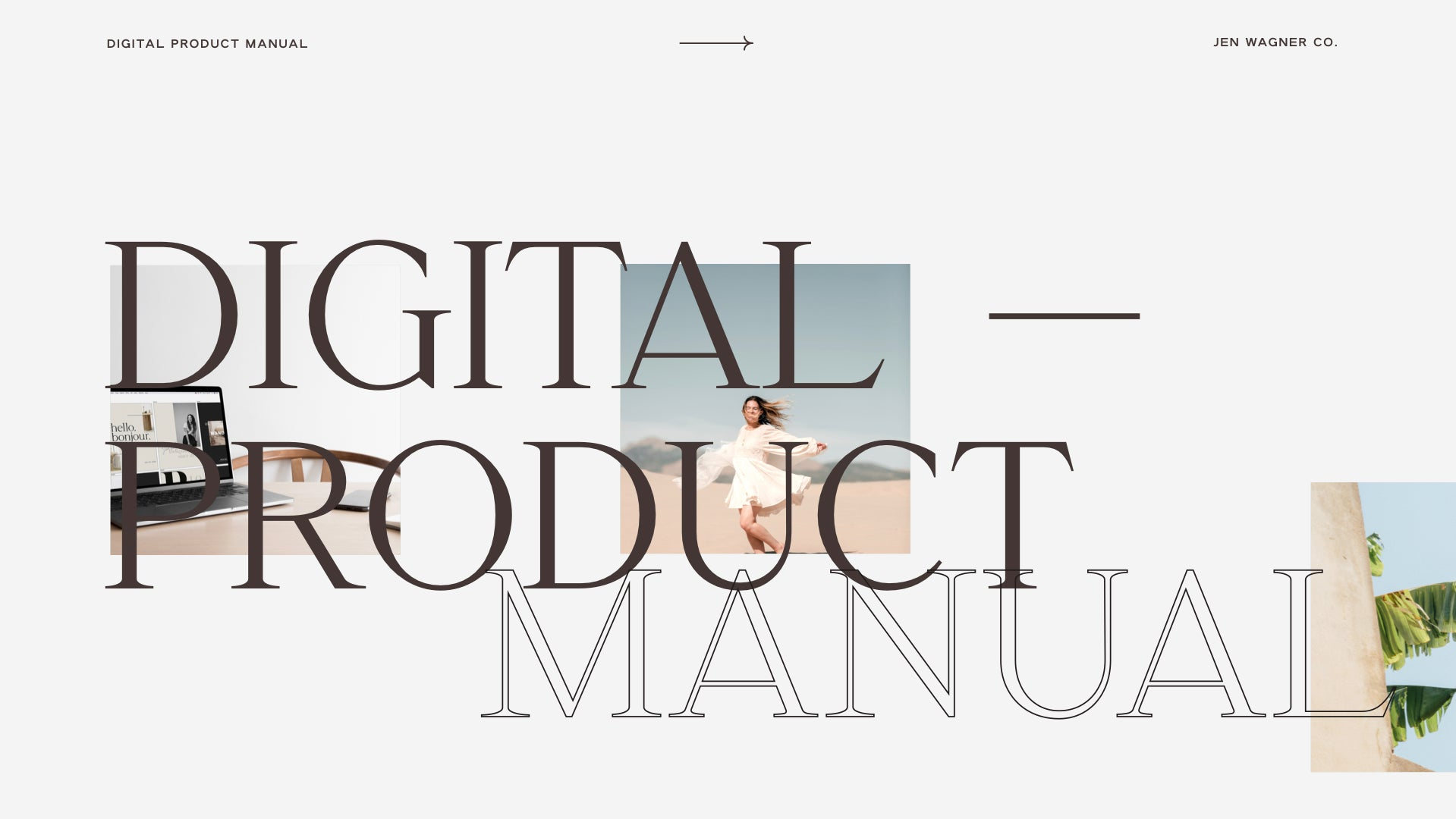 Digital Product Manual