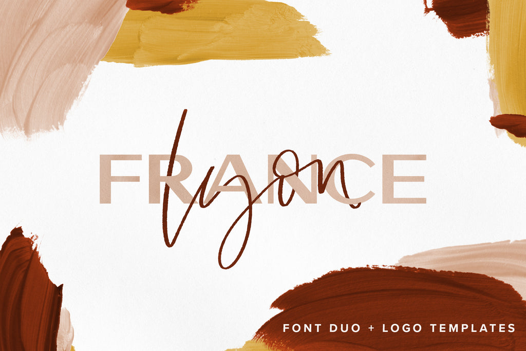 Lyon | Duo with Free Logo Templates