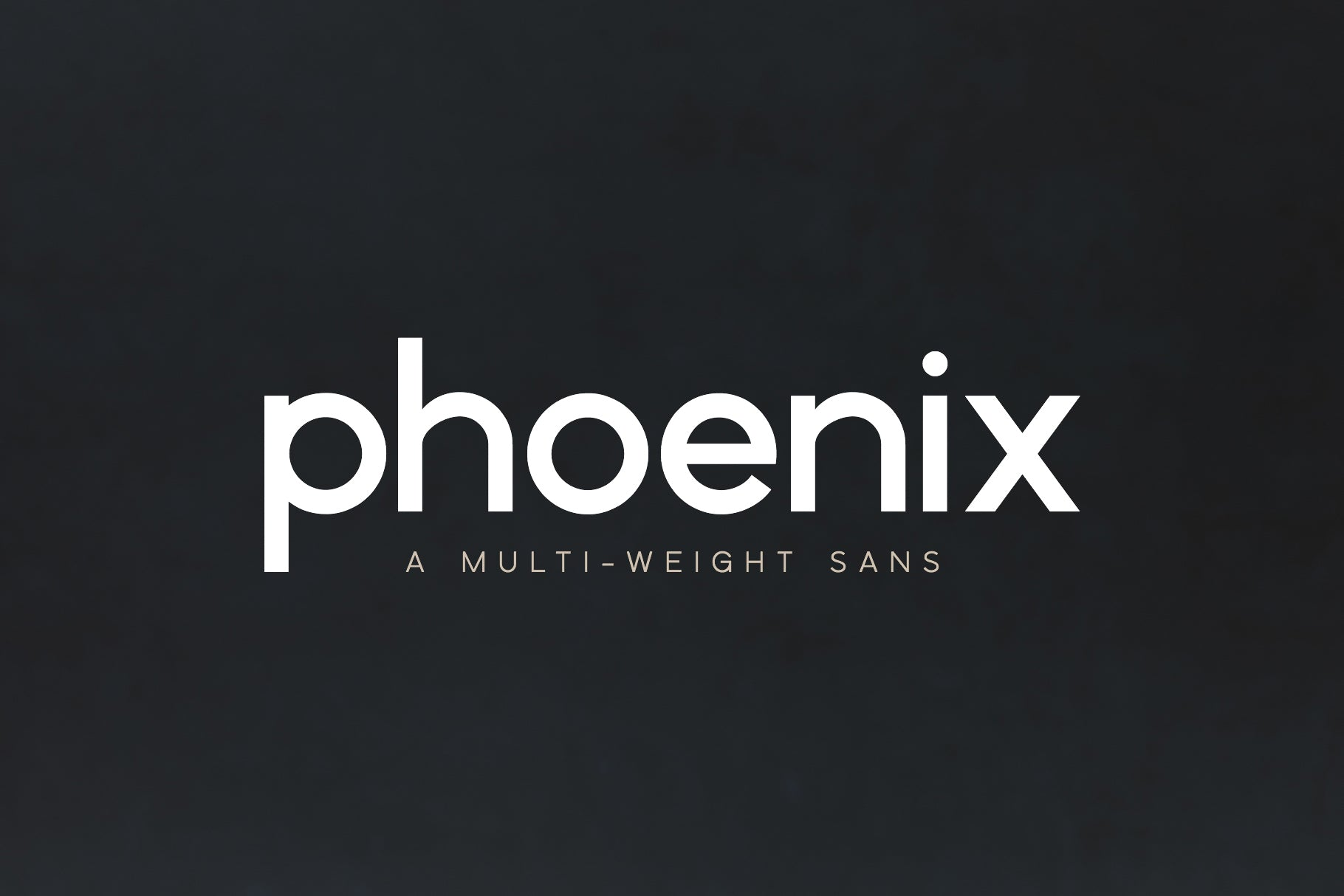 Phoenix | A Multi-Weight Sans