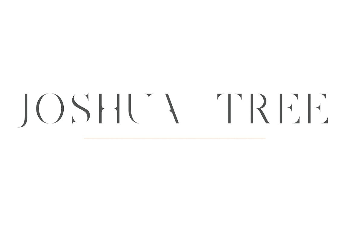 Joshua Tree | A Gorgeous Serif