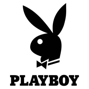"Playboy 16G Surgical Steel Bunny Belly Button Ring 3/8"" Barbell Body Piercing Jewelry Women"