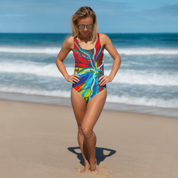 ArtzOnMe Bold One-Piece Swimsuit