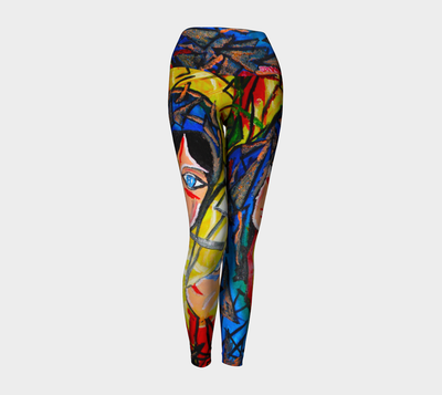 ArtzOnMe Face It Leggings