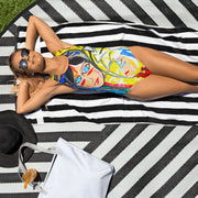 ArtzOnMe Face It One-Piece Swimsuit