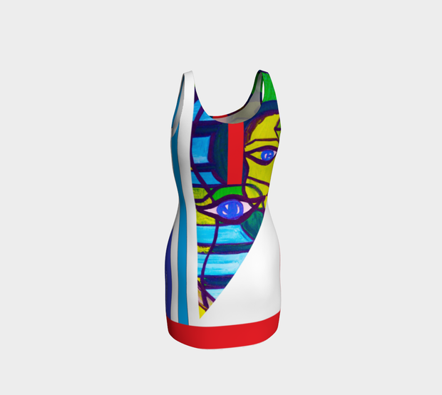 ArtzOnMe ABSTRACT White Bodycon