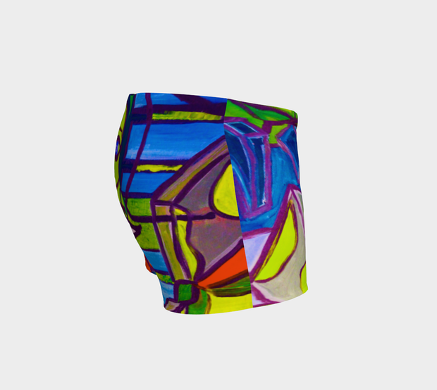 ArtzOnMe Abstract Shorts