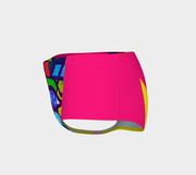 ArtzOnMe Abstract Pink Shorts