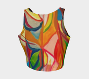 ArtzOnMe Stained Glass Crop Top
