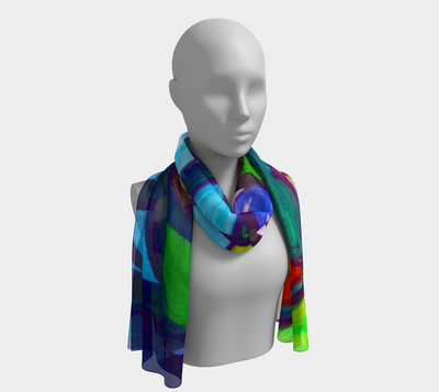 ArtzOnMe Original Abstract Scarf