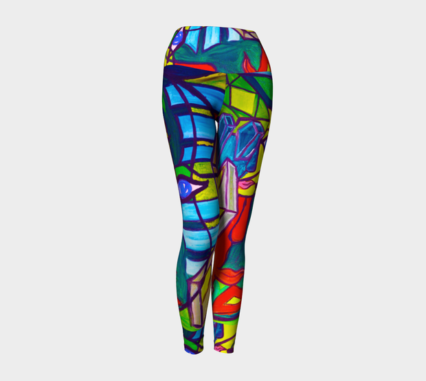 ArtzOnMe Abstract Leggings
