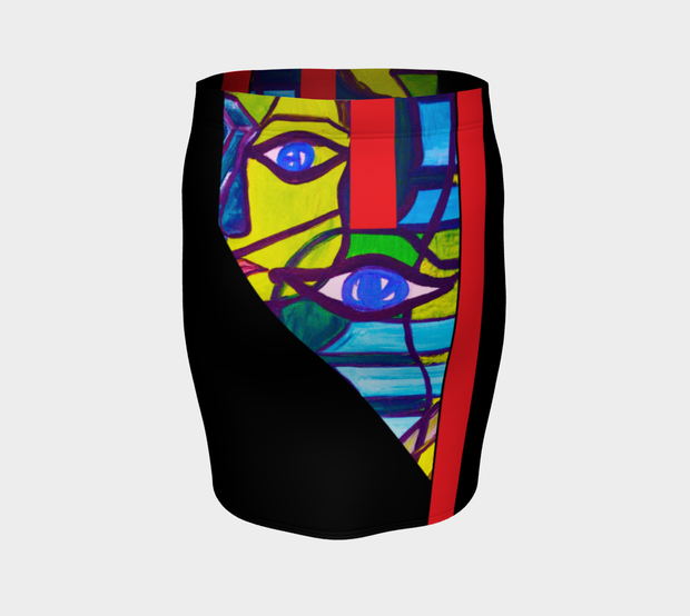 ArtzOnMe Abstract Skirt